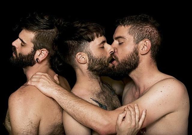 Hairy and Horny Gay Threesome