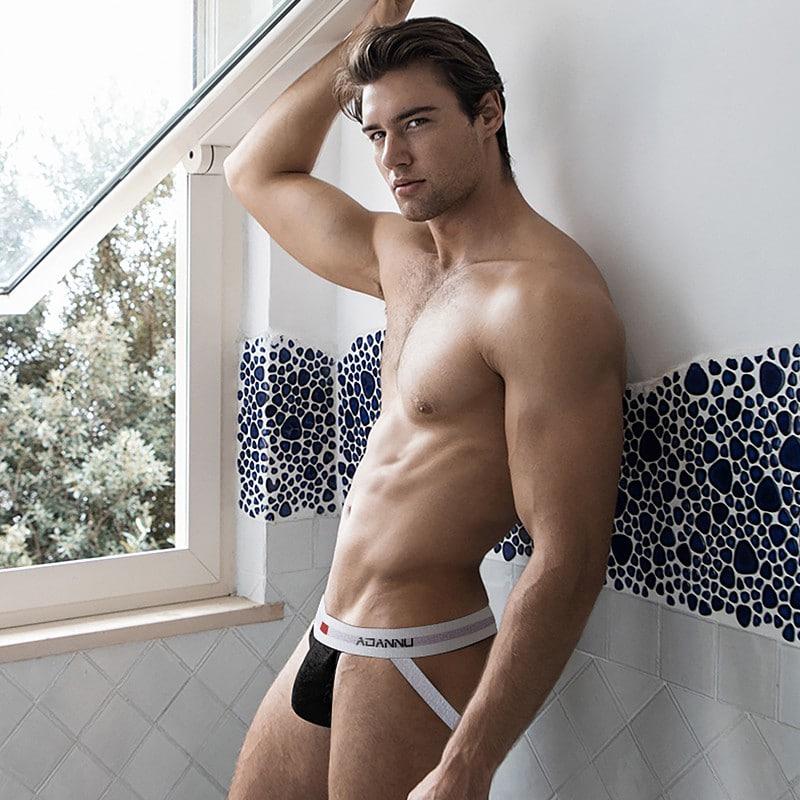 sexy gay posing